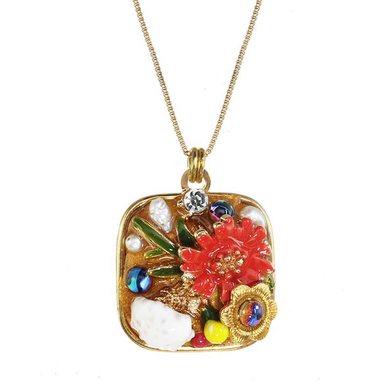 Floral Harvest Necklace