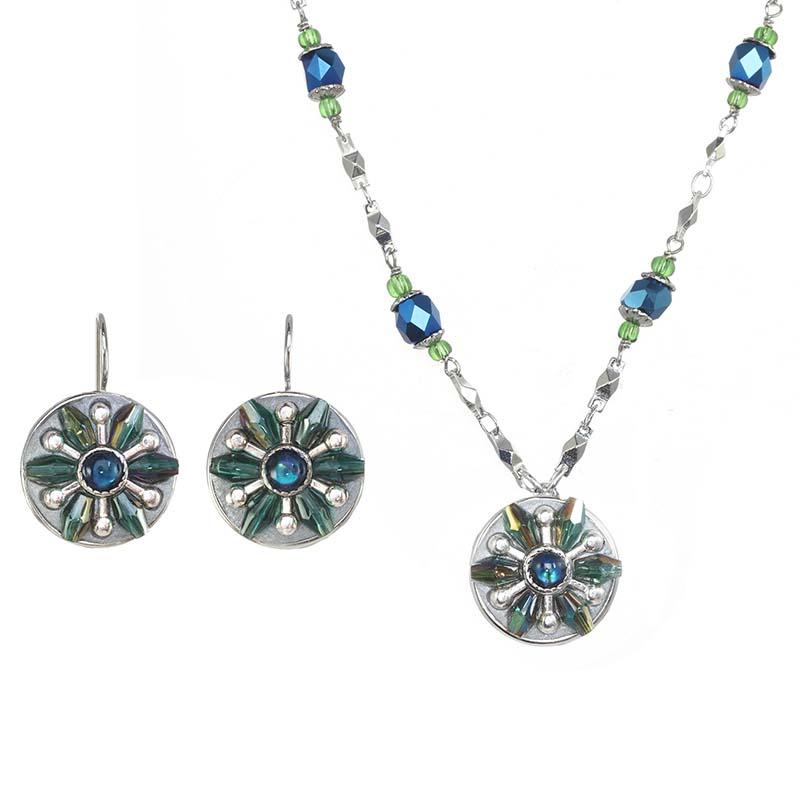 Sea Star Necklace and Earrings Set