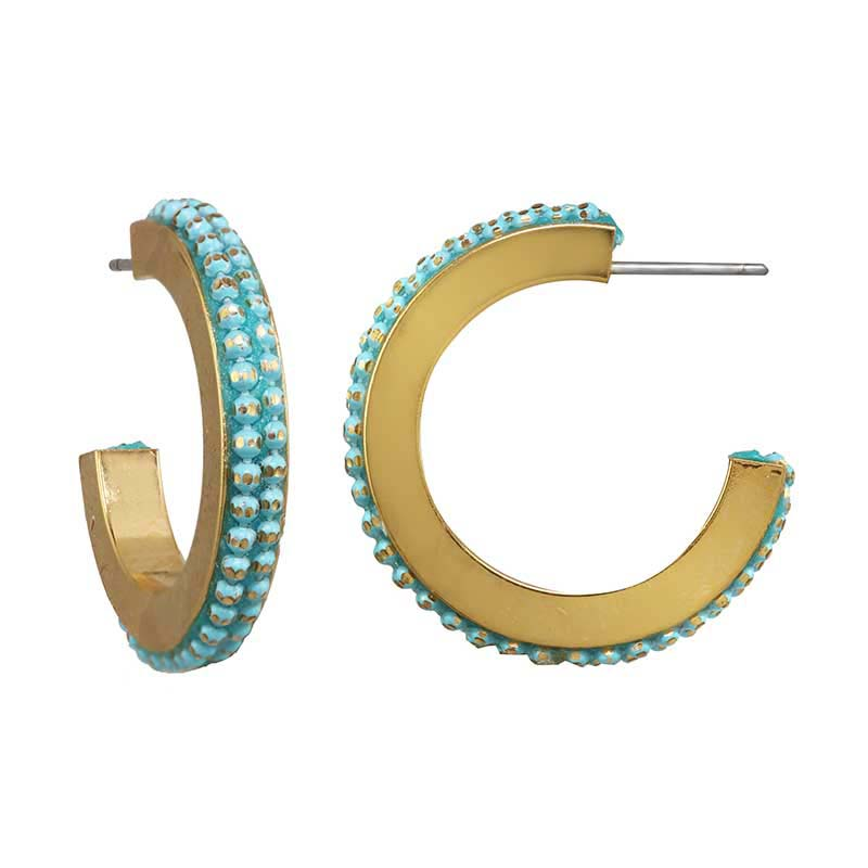 Igloo Hoop Earrings