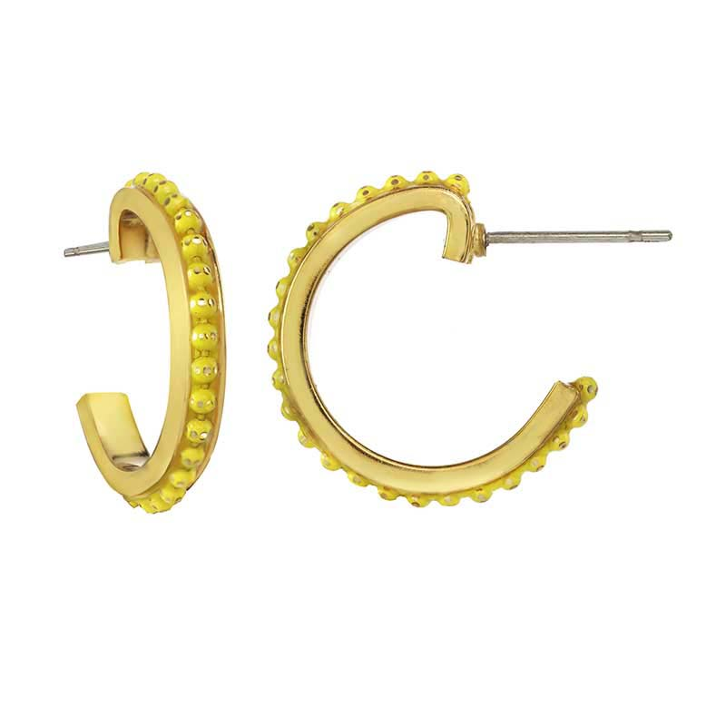 Limoncello Hoop Earrings