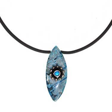 Mystic Eye Choker Necklace