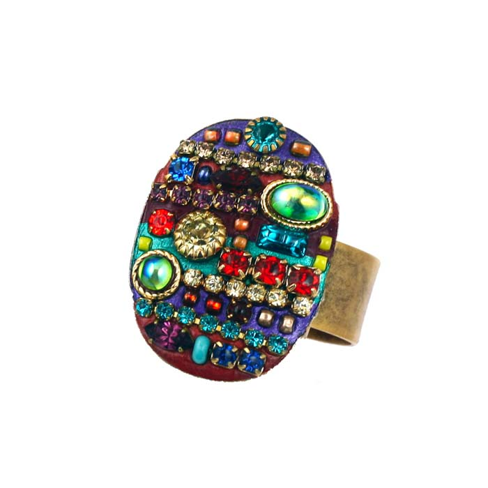 Multibright Oval Ring