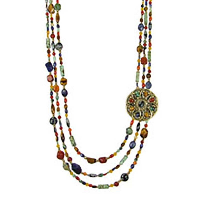 Durango Beaded Statement Necklace
