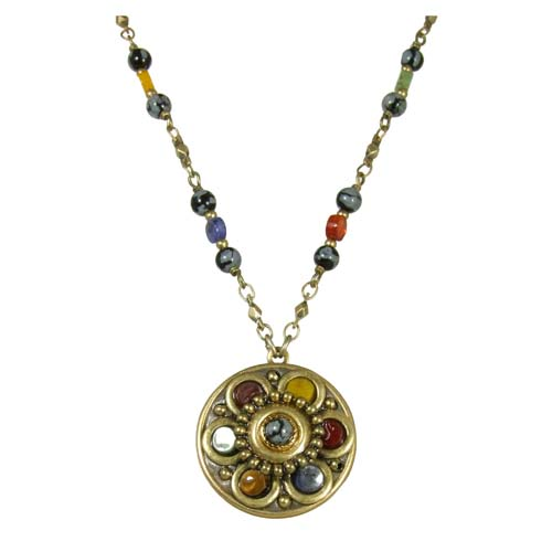 Durango Medium Circle Necklace
