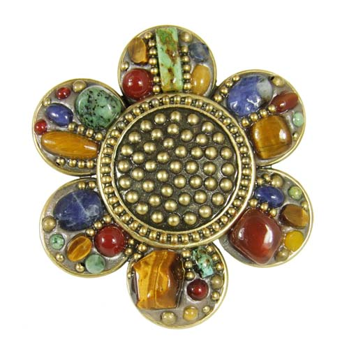 Durango Flower Brooch