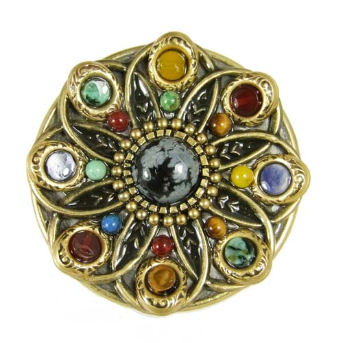 Durango Circle Brooch