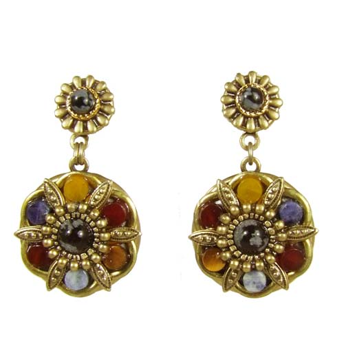 Durango Double Circle Earrings