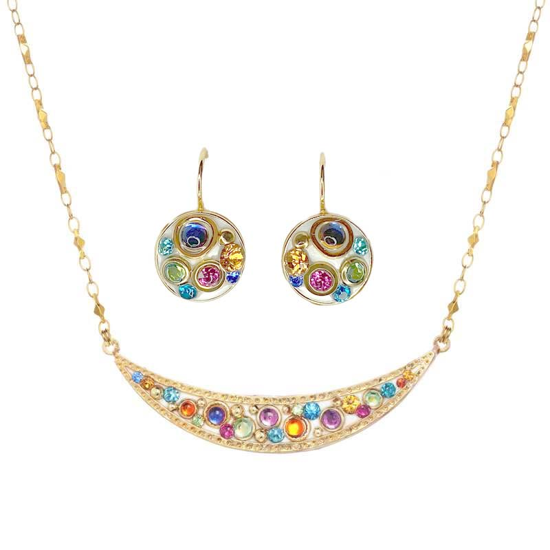 Aurora Necklace and Earrings Set