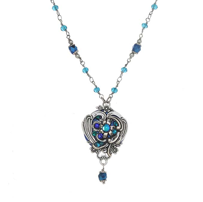Cerulean Ornate Necklace
