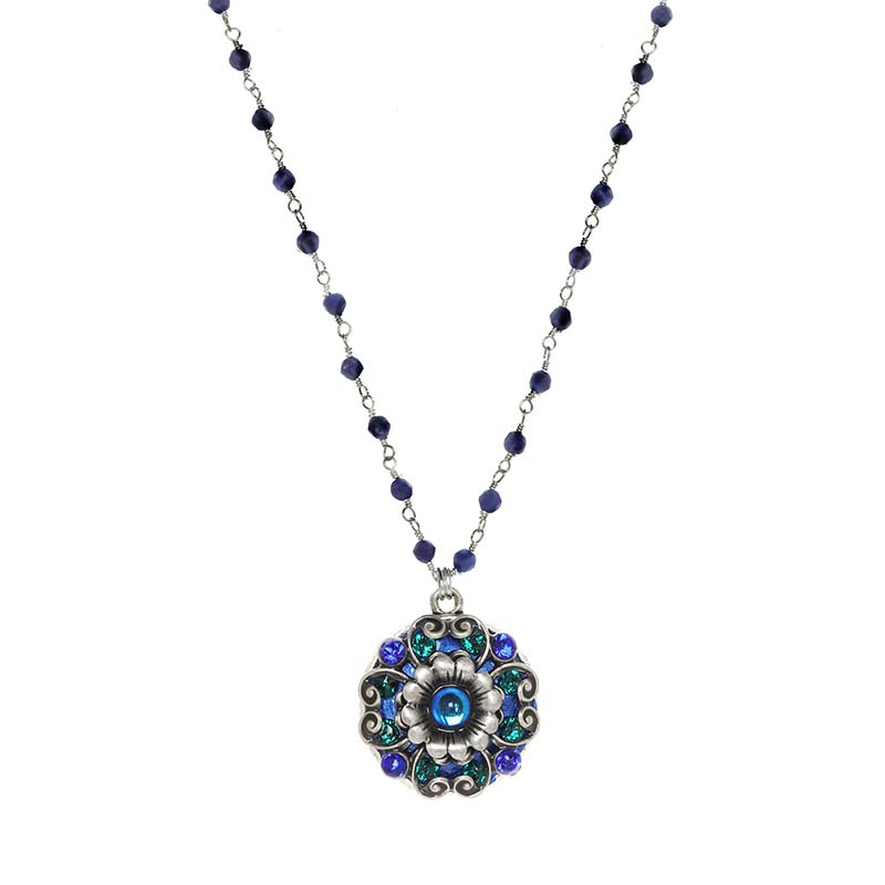 Cerulean Bloom Necklace