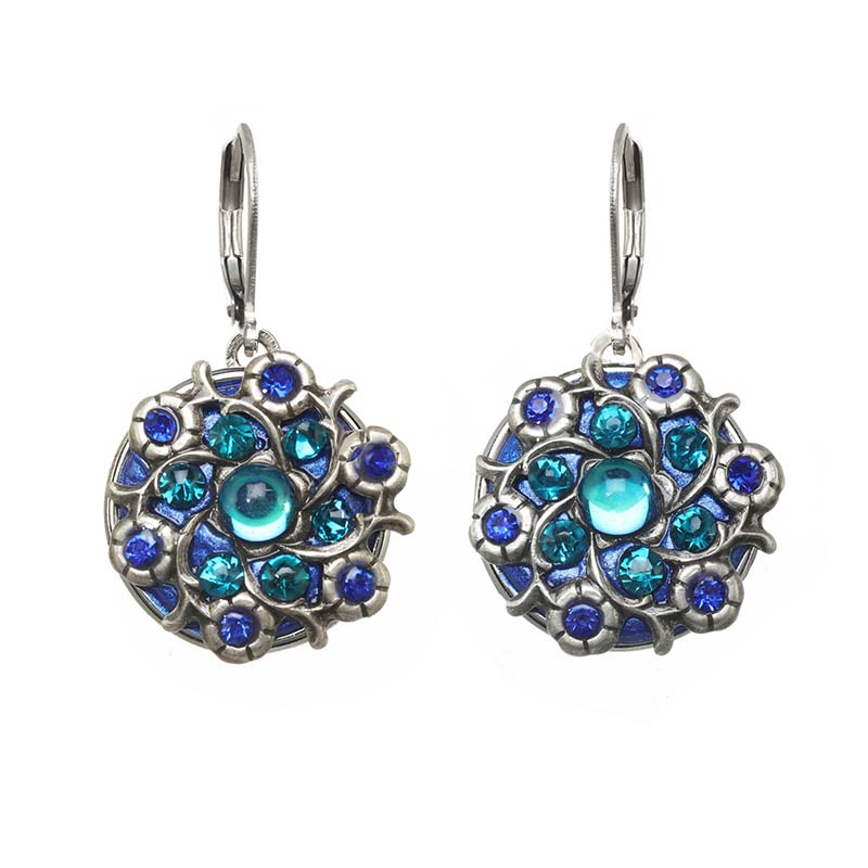Cerulean Bloom Earrings