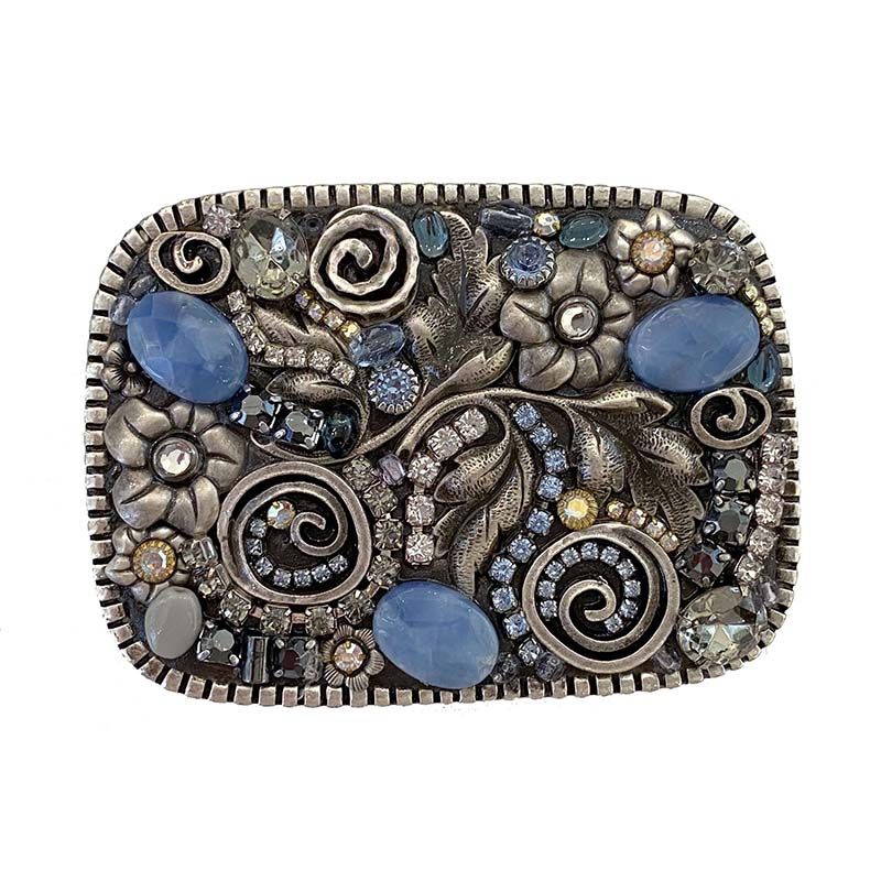 Blue Frost Belt Buckle