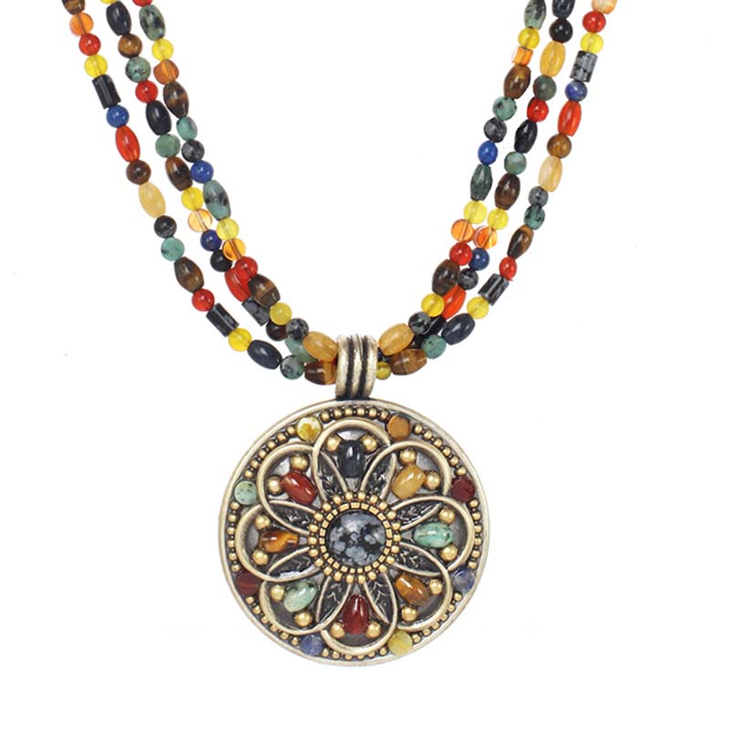 Durango Large Medallion Necklace