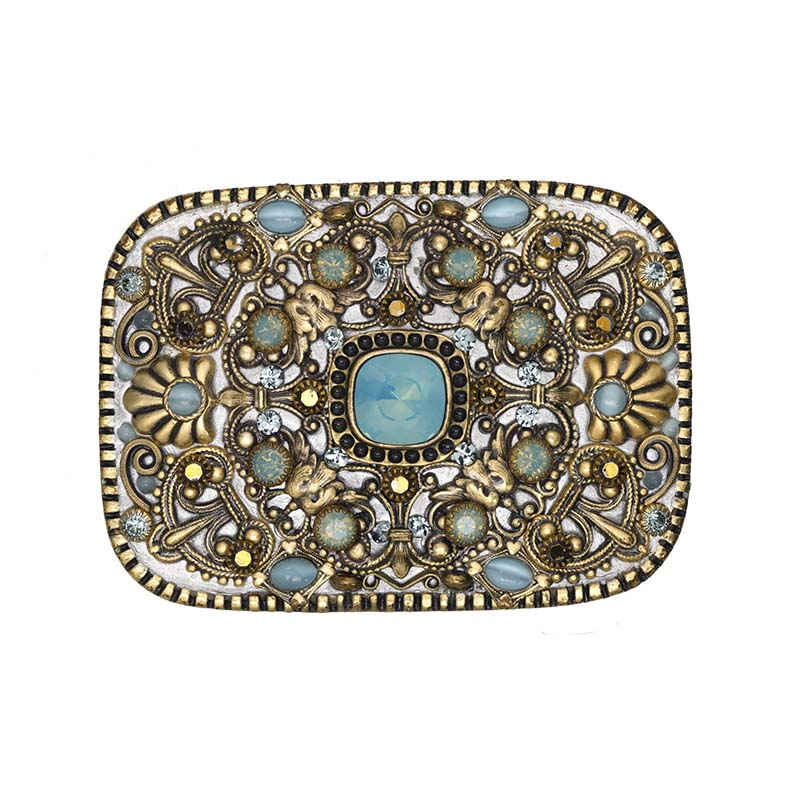 Pacific Opal Belt Buckle