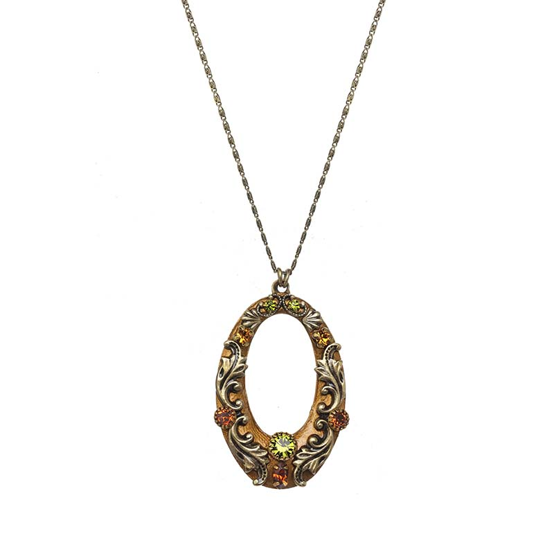 Arcadia Open Oval Necklace