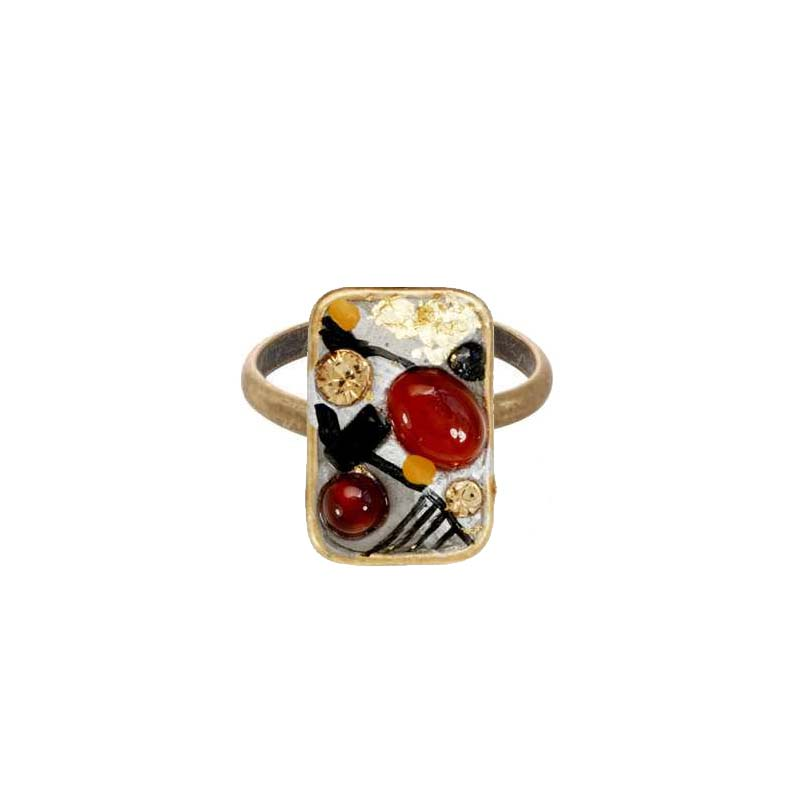 Abstract Rectangle Ring
