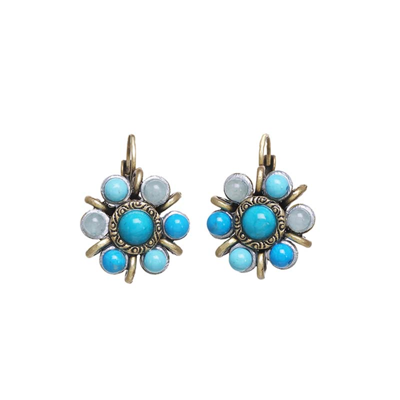 Nile Flower Earrings