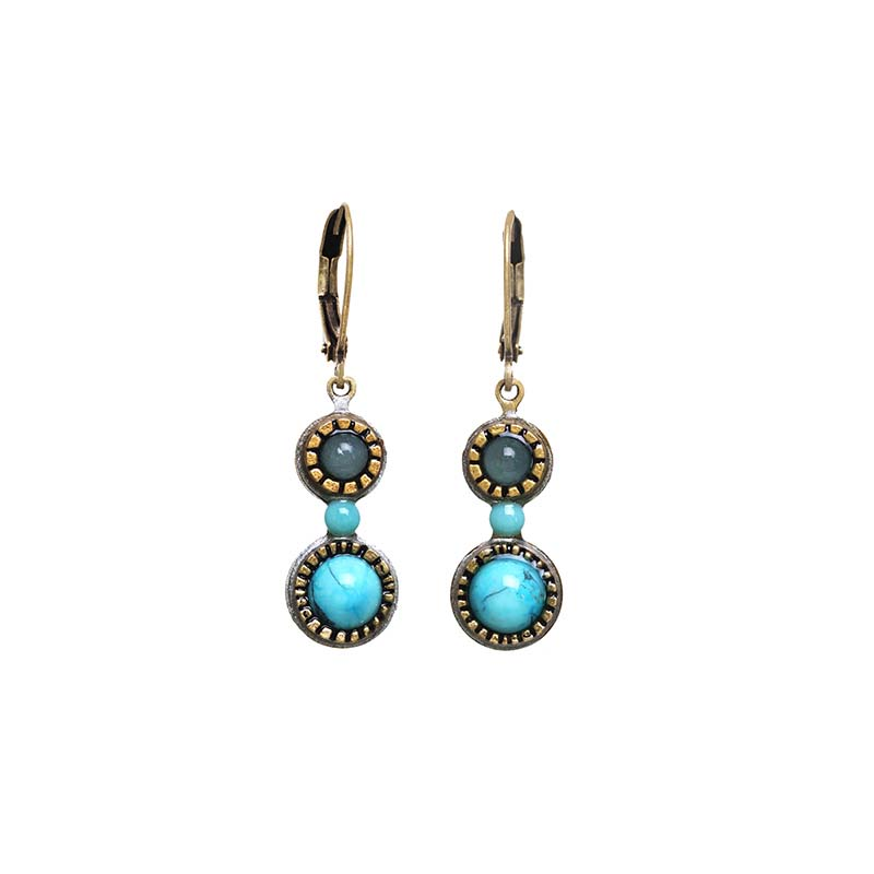 Nile Tiny Drop Earrings