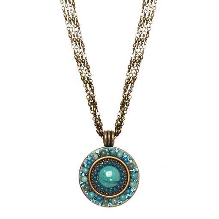 Nile Medium Circle Necklace