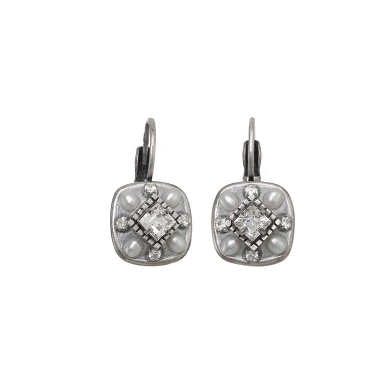 Daydream Square Earrings