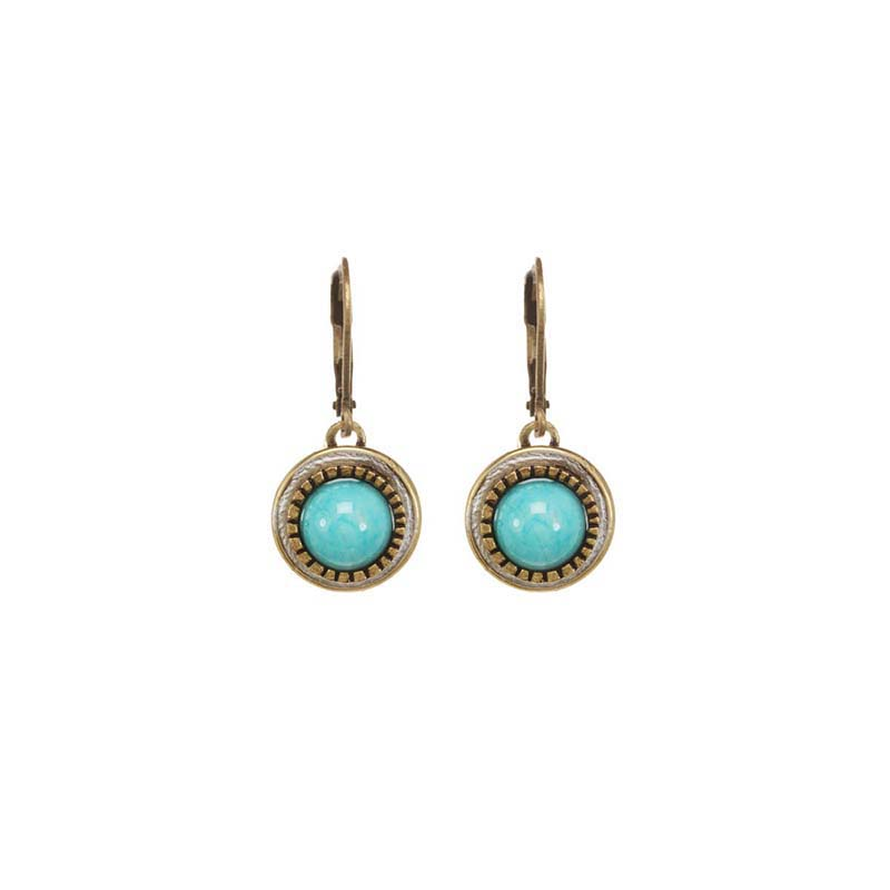 Nile Small Circle Earrings