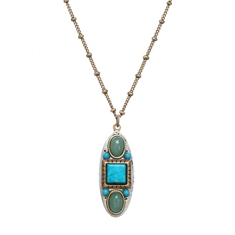 Nile Oval Necklace