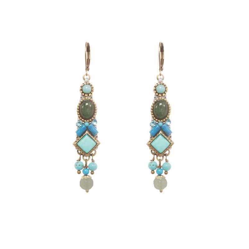 Nile Bar Earrings