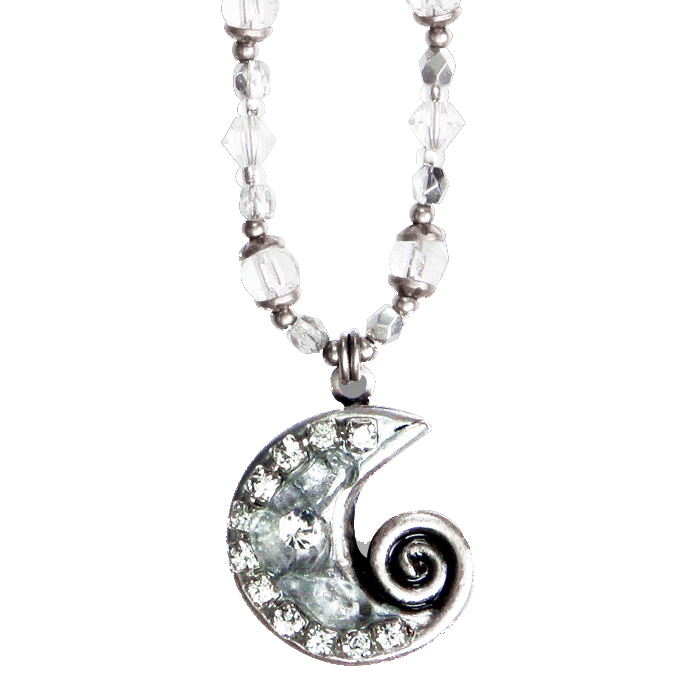 Icy Dreams Swirl Necklace