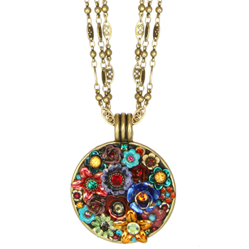 Eden Medium Circle Necklace