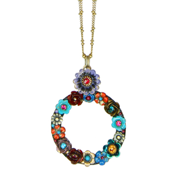 Eden Open Circle Necklace