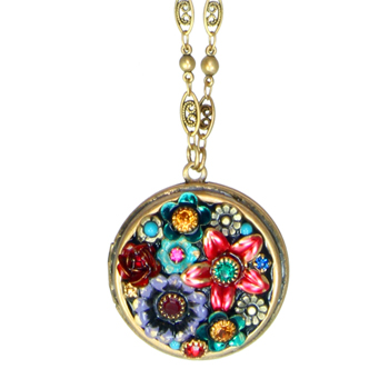 Eden Circle Locket Necklace