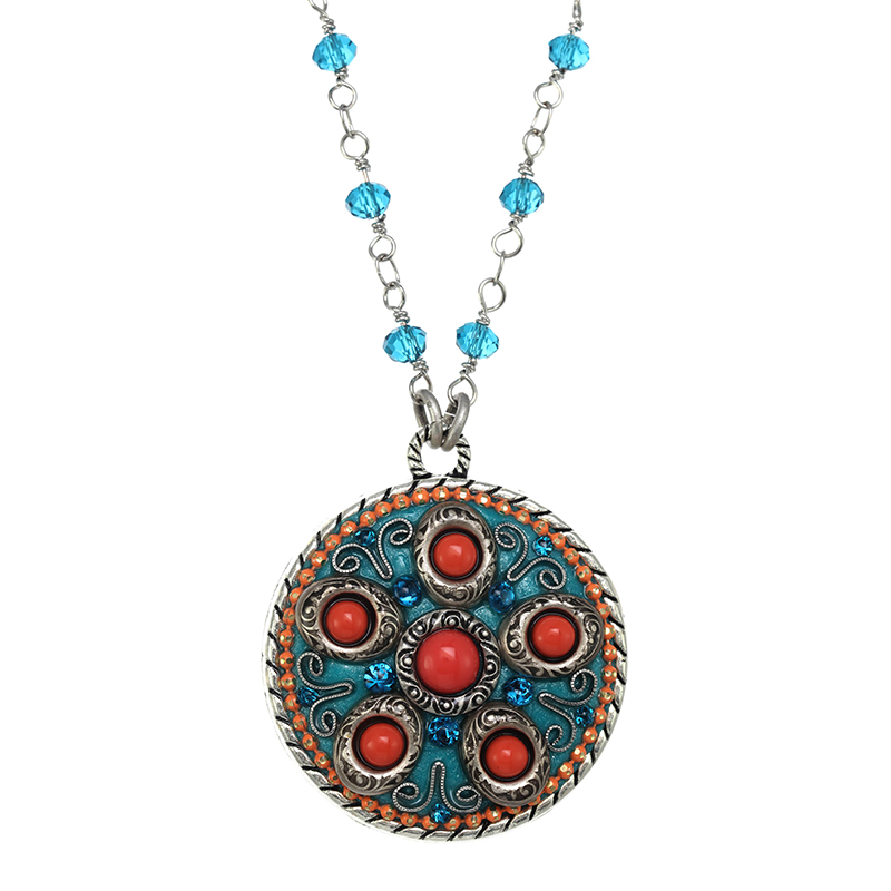 Aruba Medallion Necklace