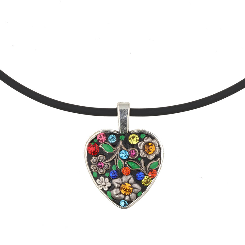 Midsummer Heart Choker Necklace