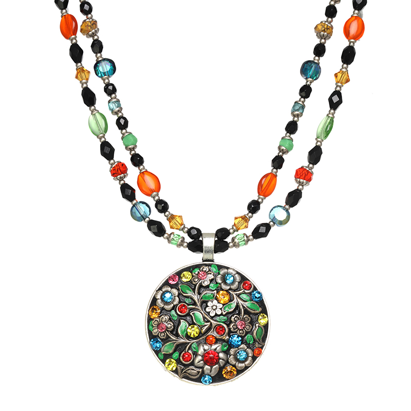 Midsummer Large Circle Necklace