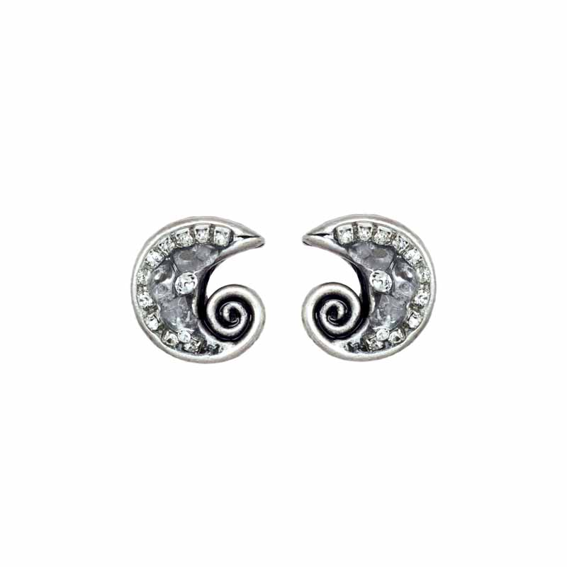 Icy Dreams Swirl Earrings