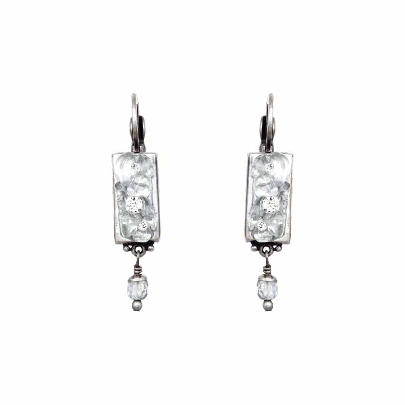 Icy Dreams Bar Earrings