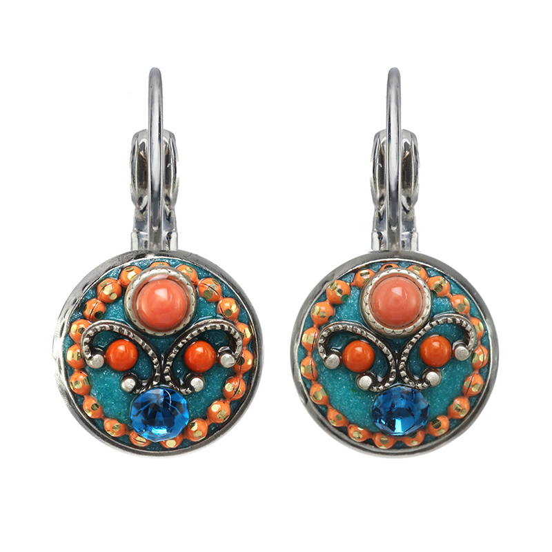 Aruba Small Circle Earrings