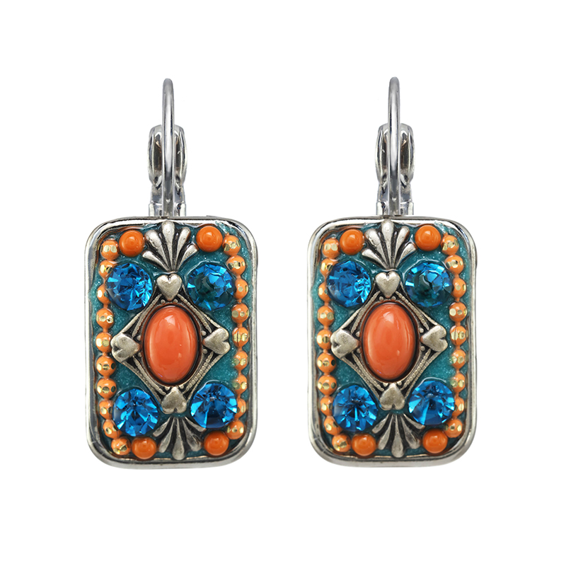 Aruba Rectangle Earrings