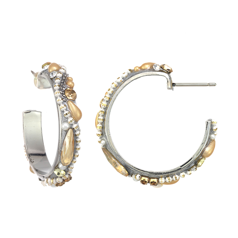 Moonlight Hoop Earrings