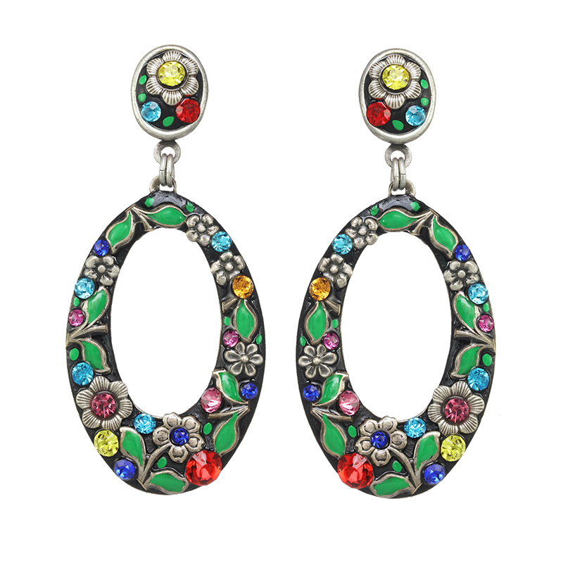 Midsummer Hoop Earrings