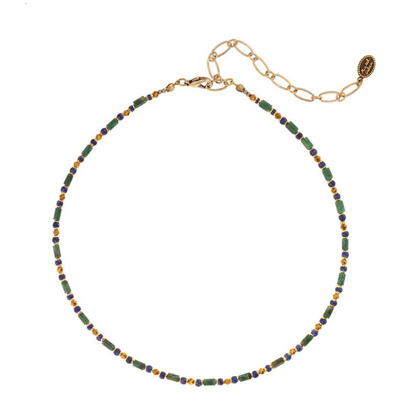 Evergreen Choker Necklace